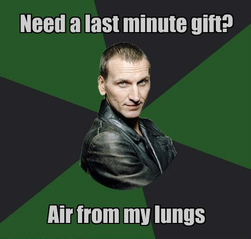 9th doctor,gifts,christmas