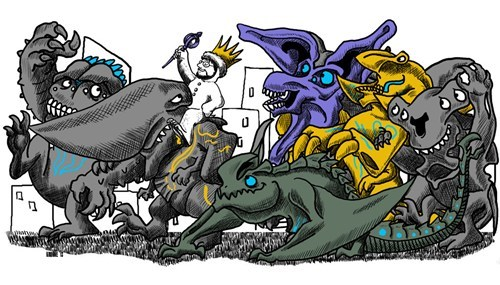 where the wild things are,Fan Art,pacific rim