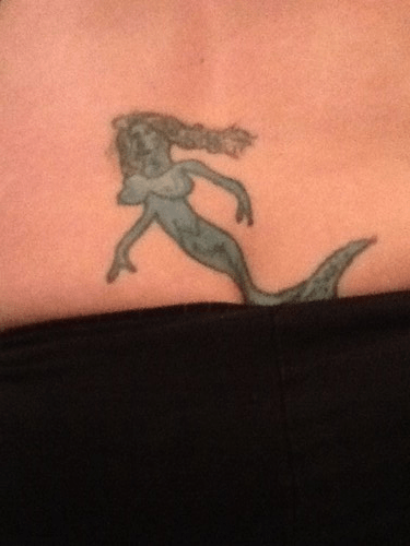 mermaids bad tattoos Ugliest Tattoos - 7951123200