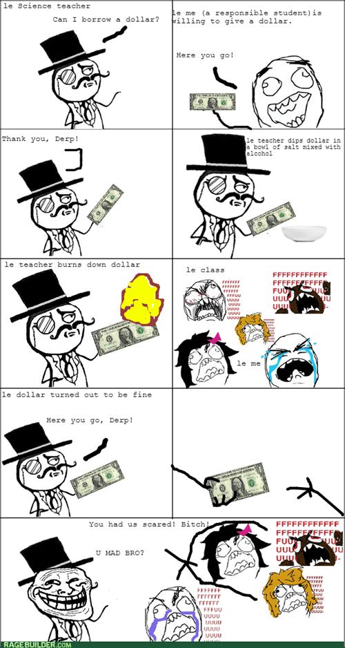 Trolling Level:Science Teacher