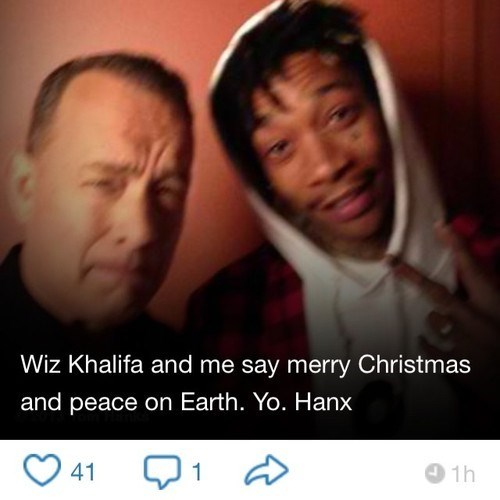 christmas wiz khalifa tom hanks merry christmas failbook g rated