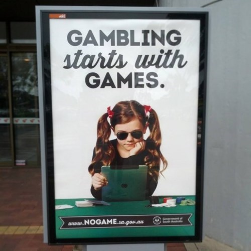 australia gambling video games wtf
