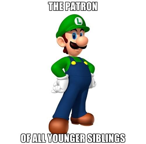 luigi siblings video games player 2 - 7952246528