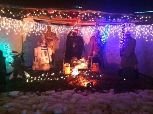 christmas Nativity star wars nerdgasm - 7952297216