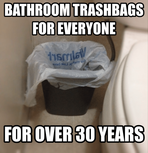 america,trash cans,Walmart,trash bags