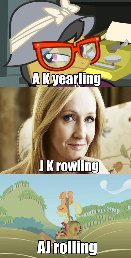 know the differences ak yearling applejack jk rowling daring do - 7952336384