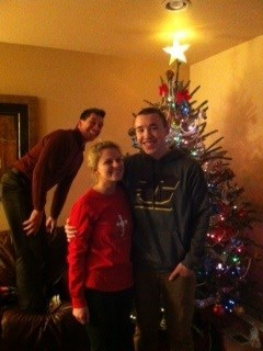 christmas photobomb third wheel