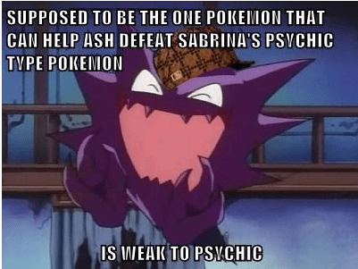 haunter,Pokémon,scumbags