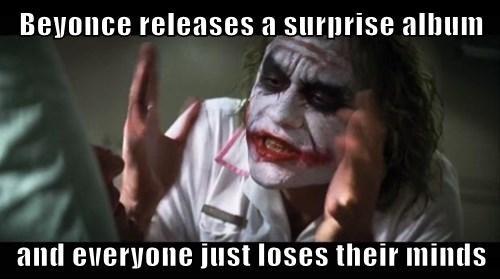 beyoncé Memes Music iTunes joker mind loss - 7952885504