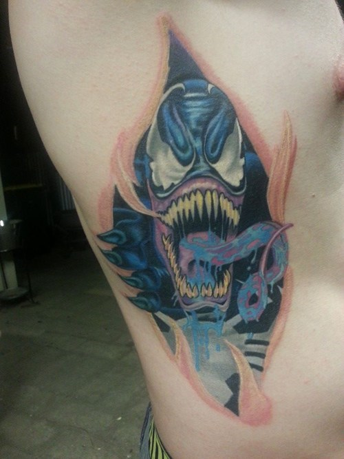 Venom Spider-Man tattoos - 7952979968