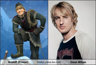 owen wilson,totally looks like,kristoff