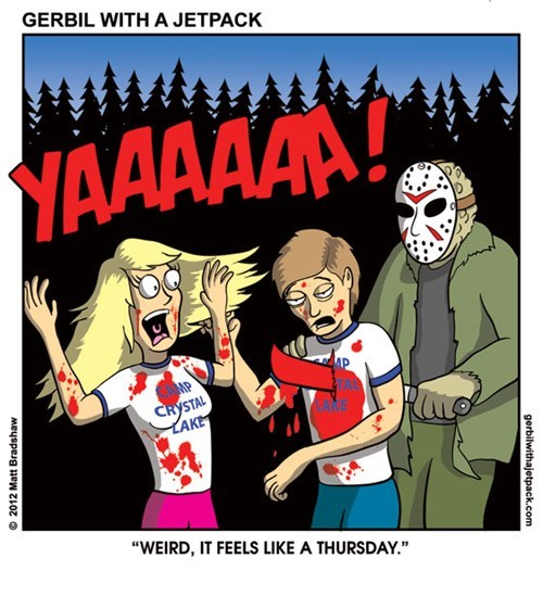 friday the 13th jason web comics - 7953336064