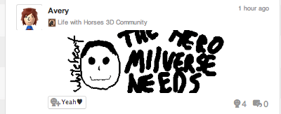 list,weird,wtf,Miiverse,life with horses 3d