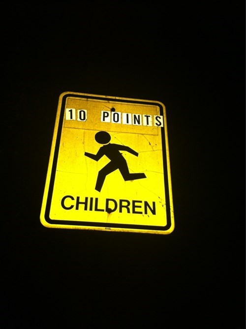 children,parenting,road signs,street signs