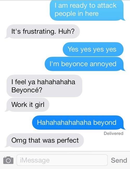 beyoncé,autocorrect,text