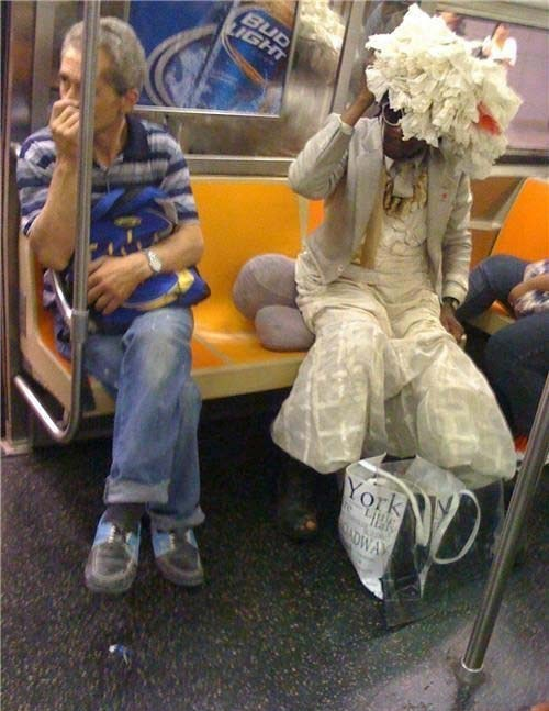 fashion,wtf,mass transit,train