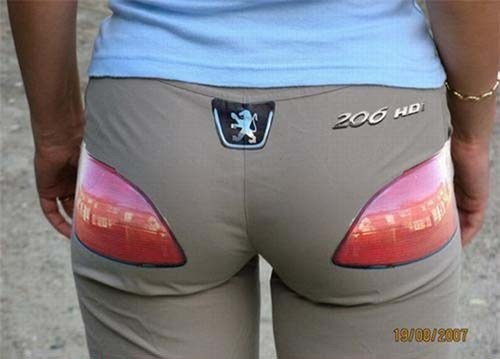 fashion wtf car pants - 7953795584