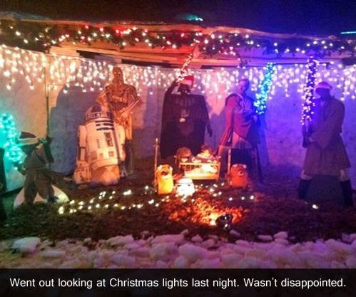 star wars,christmas lights