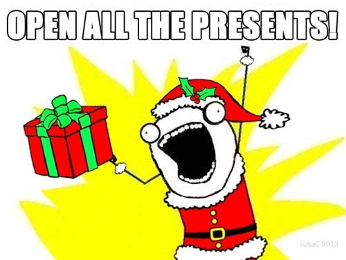 all the things,christmas presents,santa