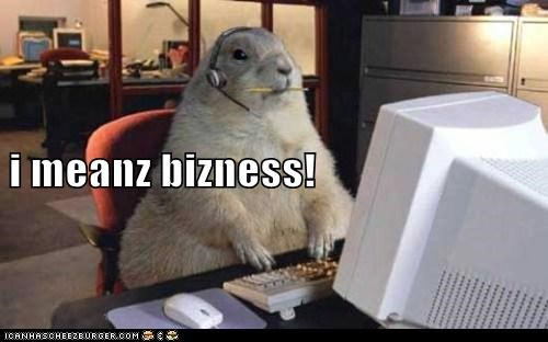 gofer puns business funny - 7953852672