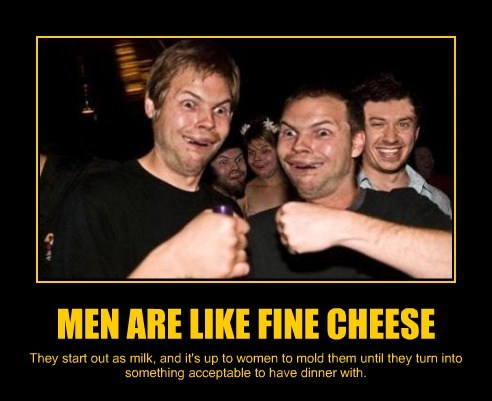 cheese men funny women
