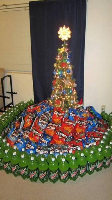 christmas gamers mountain dew christmas trees doritos - 7953863168