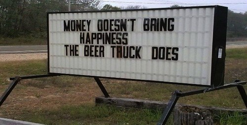 beer drinking signs - 7953863680