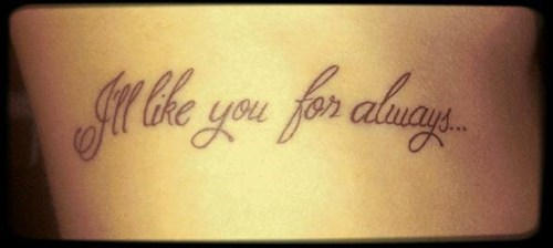grammar text tattoos - 7953914112