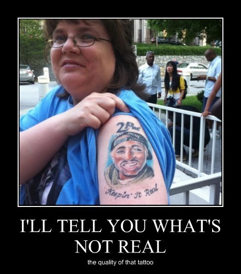 2Pac wtf bad idea tattoo idiots funny - 7953952768