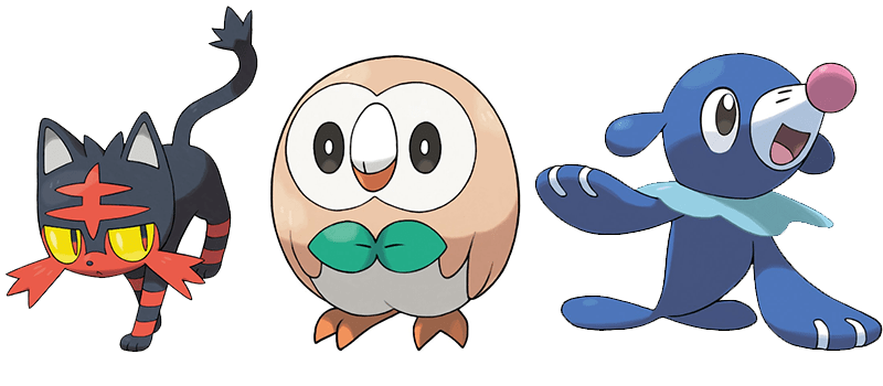 Check out the Best of the Internet's Reactions to the Pokémon Sun and Moon Starters