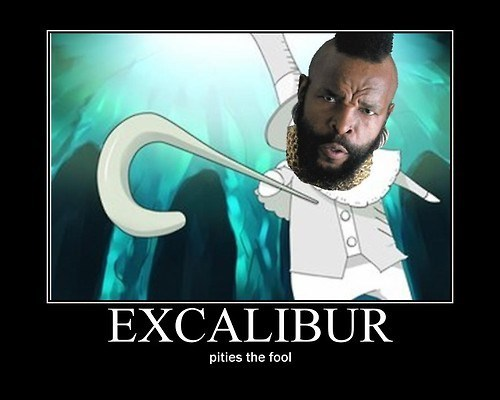 excalibur wtf creepy mr t funny - 7953972992