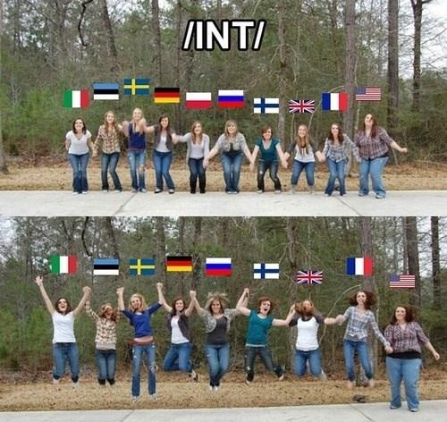 international,america