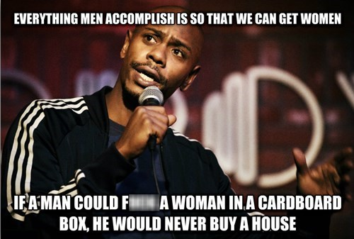 dave chappelle men vs women true facts - 7954102528
