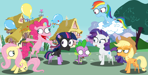 crossover,my little pony,Invader Zim