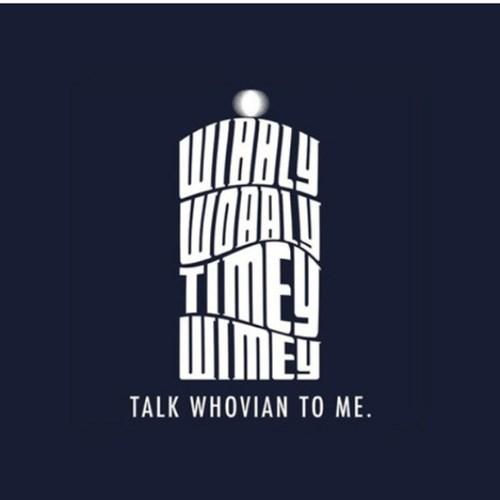 doctor who wibbly wobbly timey wimey - 7954533632