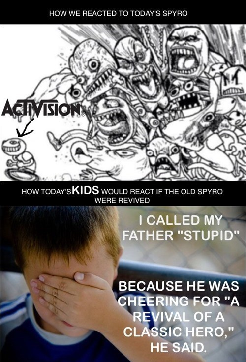 confession kid,activision,gamers,spyro