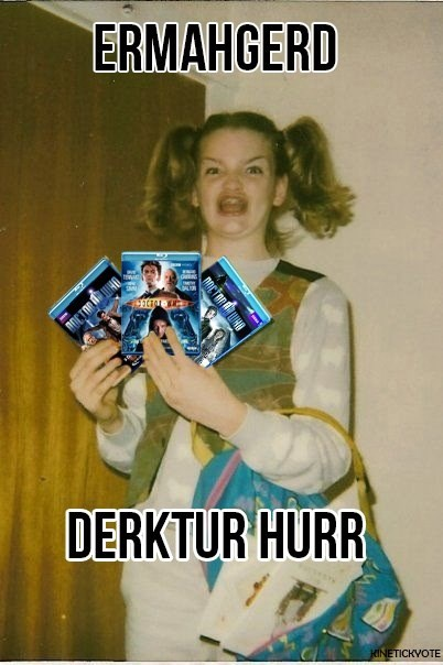 doctor who,Ermahgerd,dvds