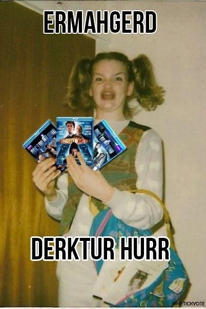 doctor who Ermahgerd dvds - 7954953728