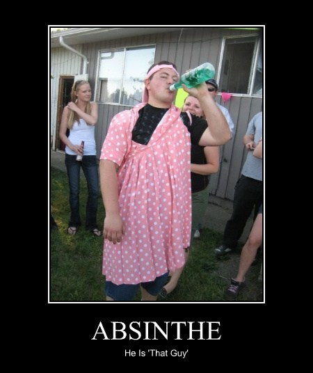 absinthe drunk dress funny - 7955017984
