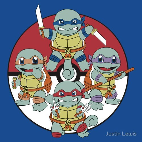 for sale t shirts Pokémon TMNT ninja turtles - 7955421952