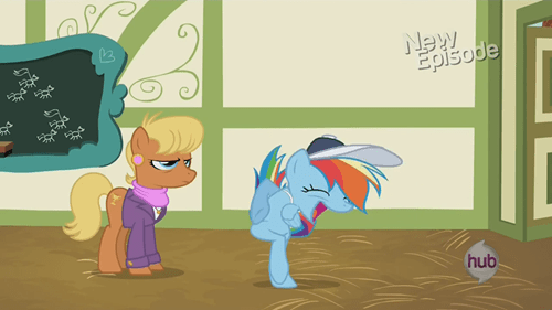 animation MLP rainbow dash - 7955644928