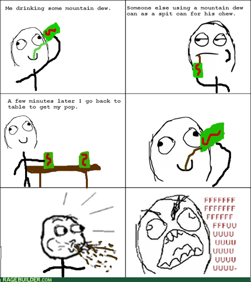 mountain dew,rage
