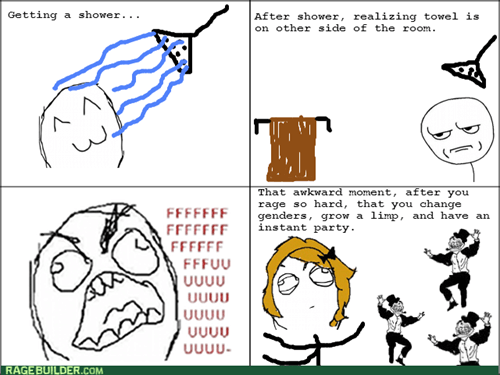 rage,trollface,extra panel,showers