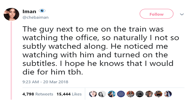 heartwarming feel good tweets