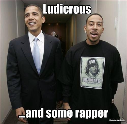 Democrat ludicrous barack obama potus - 7957099520