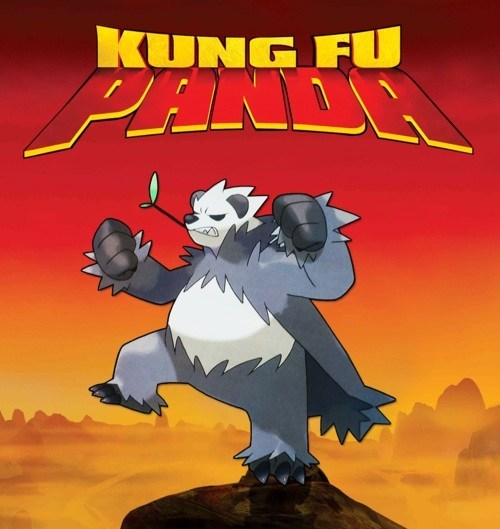 Pokémon Kung Fu Panda Pangoro - 7957633280