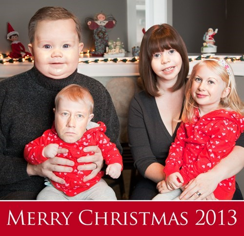 christmas cards,christmas,marriage,faceswaps