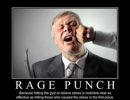 effective funny punch rage