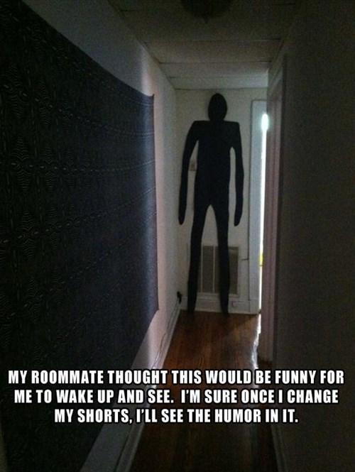 roommate pranks roommates burglars slenderman - 7958210816