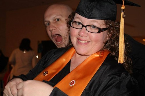photobomb,graduation